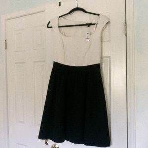 NWT Black and White Cocktail Party Dress